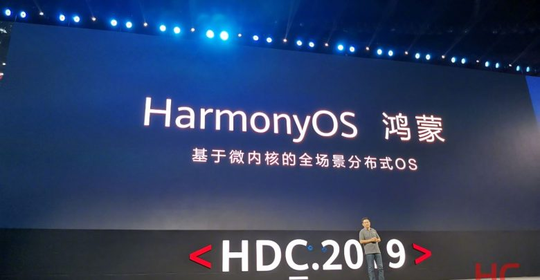 Huawei's new operating system is called HarmonyOS