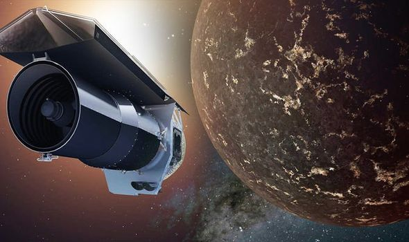 A space telescope provides a rare glimpse of an extraterrestrial planet