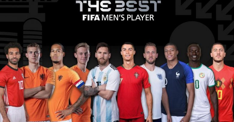 The 10 nominees for FIFA's The Best 2019 award