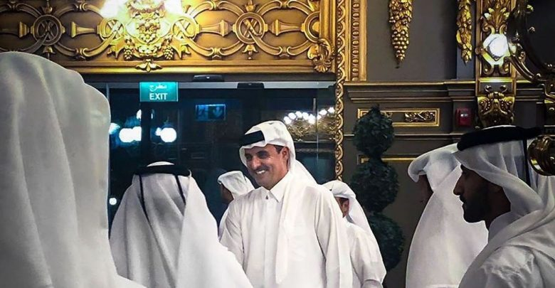 HH The Amir visits Alhazm