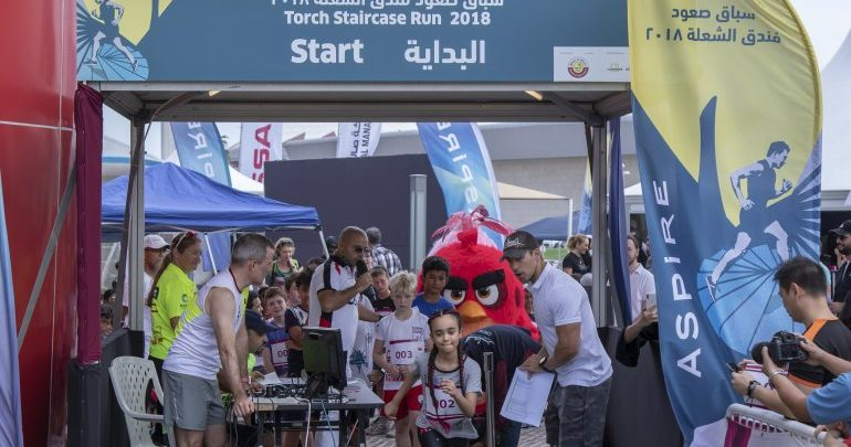 Registration for Aspire Torch Staircase Run opens