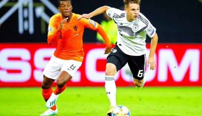 Netherlands shock Germany in topsy-turvy 4-2 win