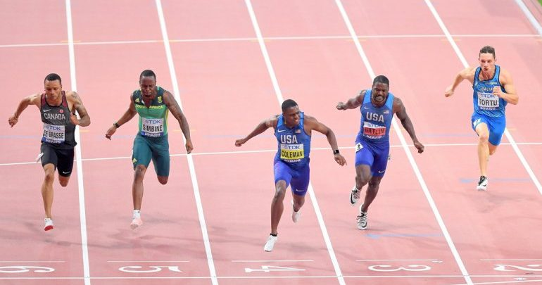 Coleman is fastest man on earth