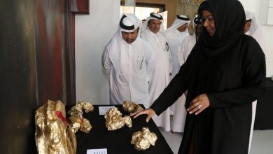 Zakreet Rocks Exhibition begins at Katara