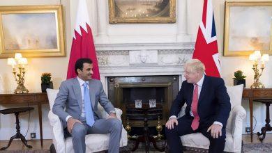 Amir, British PM hold talks on bolstering strategic ties