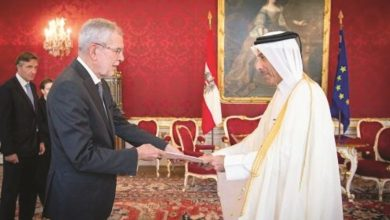 President of Austria receives credentials of Qatar's Ambassador