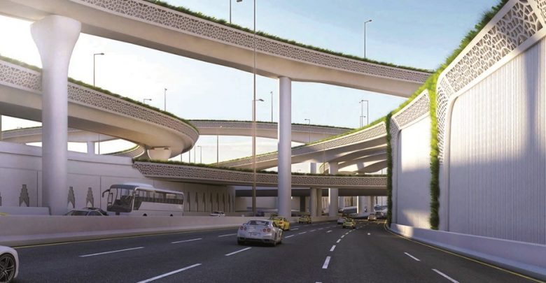 Ashghal completes 72% construction of Umm Lekhba Interchange