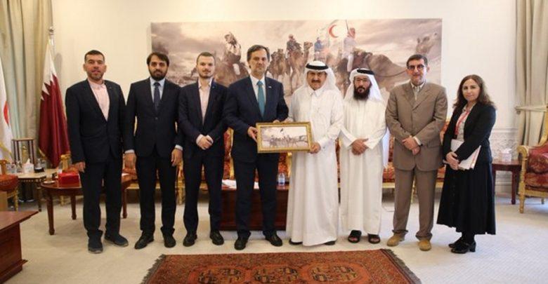QRCS, Turkish counterpart discuss promoting cooperation