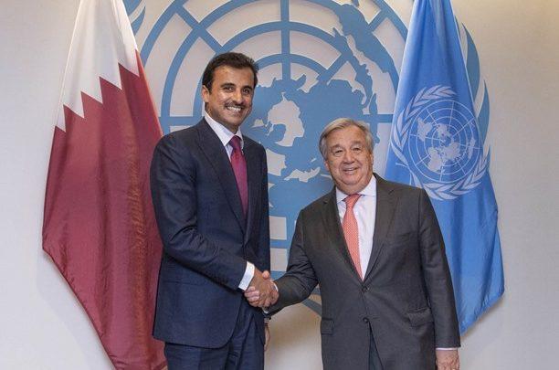Amir meets UN chief
