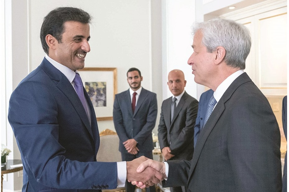 Amir meets world leaders in New York