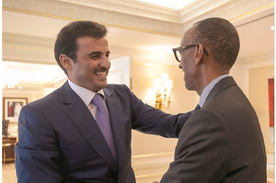Amir meets world leaders in New York