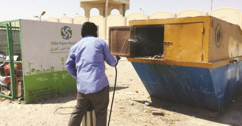 MME carries out pest control and cleanliness drives