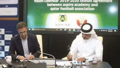 Aspire Academy-QFA deal on Youth Calendar