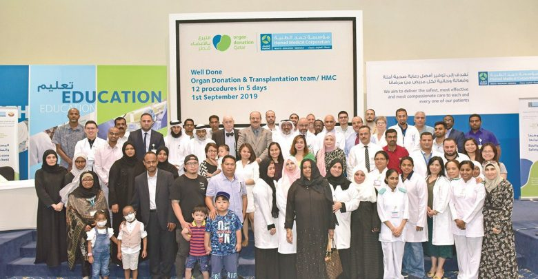 HMC team successfully performs seven lifesaving transplants in just five days