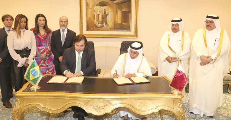 Shura Council signs MoU with Chamber of Deputies of Brazil