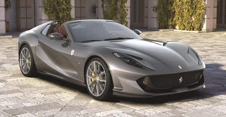 Ferrari 812 GTS Revealed With 789 HP And 211 MPH Top Speed
