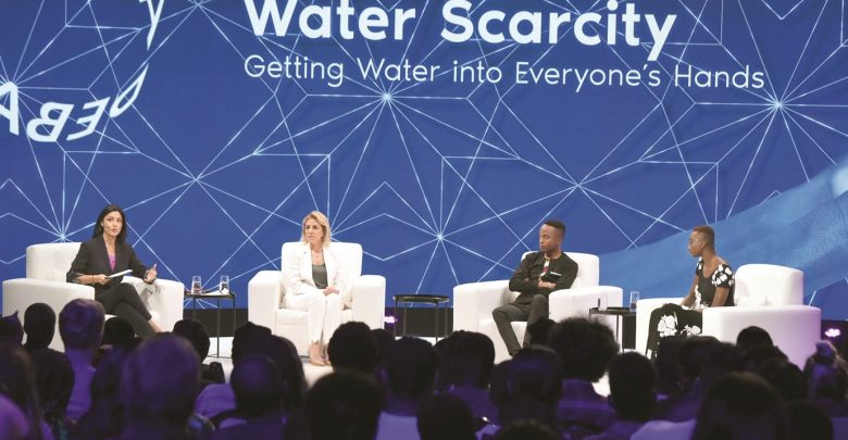 Advocates  at Doha Debates propose solutions to water scarcity crisis