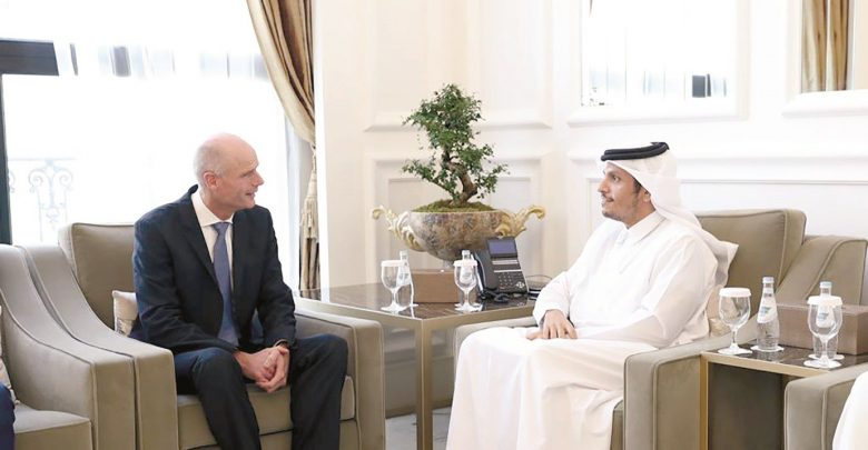 Qatar and the Netherlands review bilateral relations
