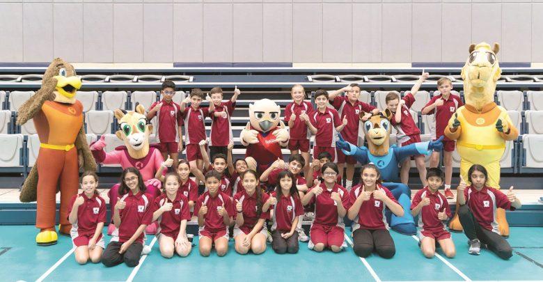 Qatar Airways hosts athletics talent identification activities at OIS