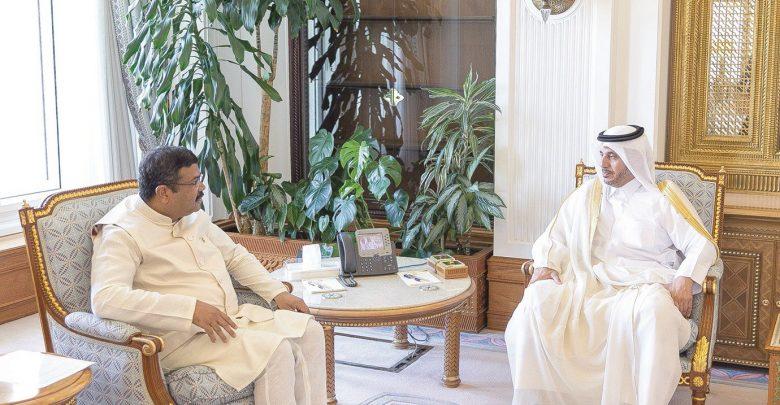 PM meets Indian petroleum minister