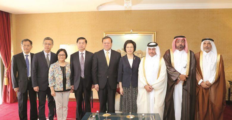 Shura Council group meets Shanghai delegation