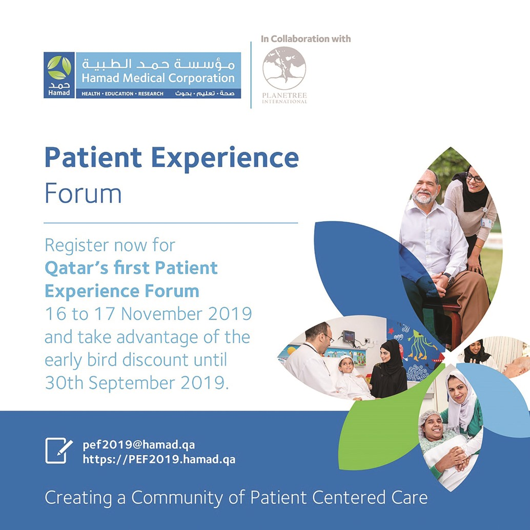 Registration opens for Qatar's first 'Patient Experience Forum'