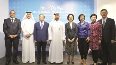 Photo exhibition on Shanghai's history opens at Katara