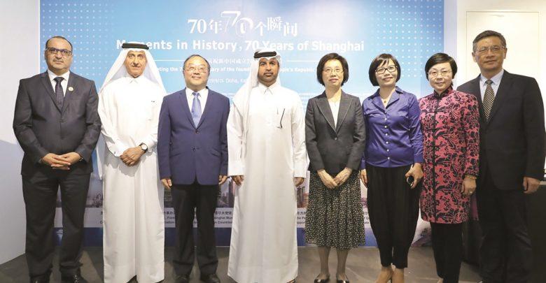 Photo exhibition on Shanghai's history opens at Katara