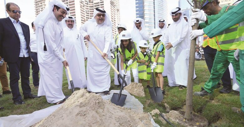 Works in progress to increase green areas by over 10 million sqm by 2022