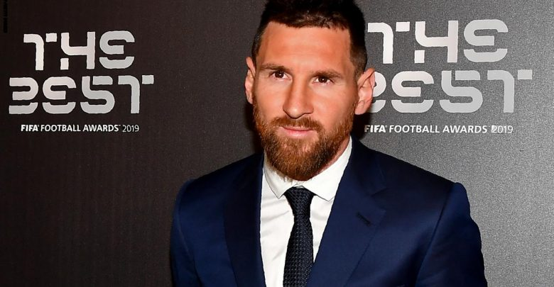 Messi wins best men's player of 2019
