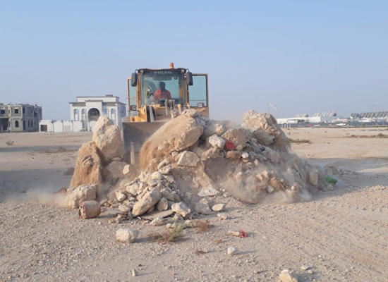 MME: removal of random waste in all areas of the state