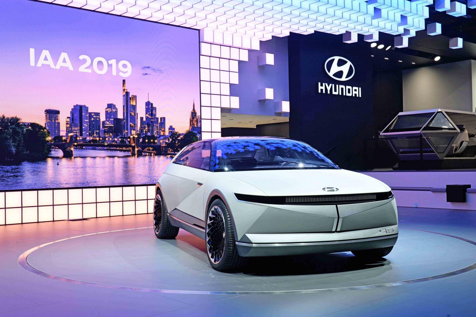 Hyundai Unveils 45 EV Concept to Define Future Through Heritage
