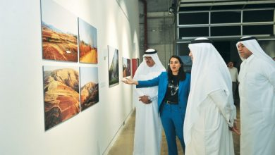 Qatari artist's exhibition a cautionary tale on environment