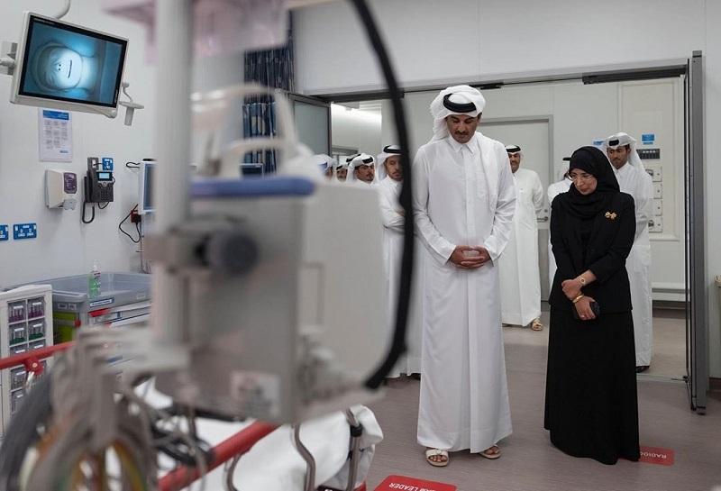 Amir opens HMC's new Trauma and Emergency Center