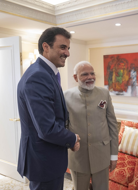 Amir meets Indian Prime Minister