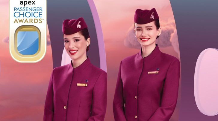 Qatar Airways wins three global Passenger Choice Awards