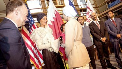 Sheikha Moza participates in Georgetown University seminar in Washington, DC