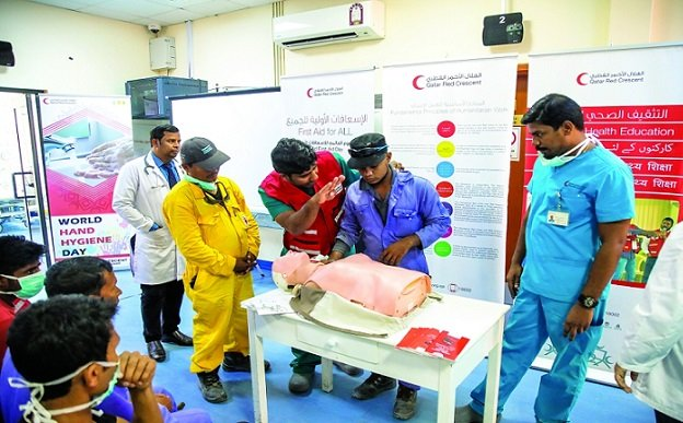 QRCS marks World First Aid Day with training sessions