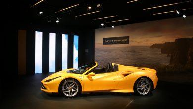 Ferrari unveils F8 Spider