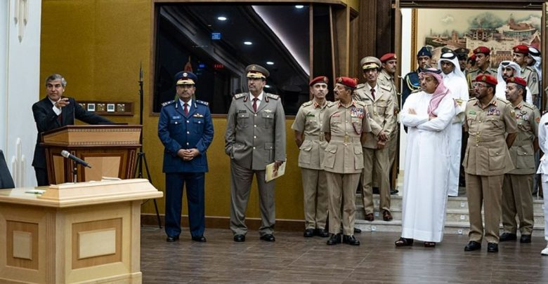 Defence Minister visits Military Museum, National Defense College in Oman