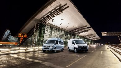 Maxus V80 ... The ideal van for safe and comfortable operations