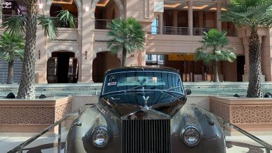 Classic Mawater cars showcased at Mirqab Mall