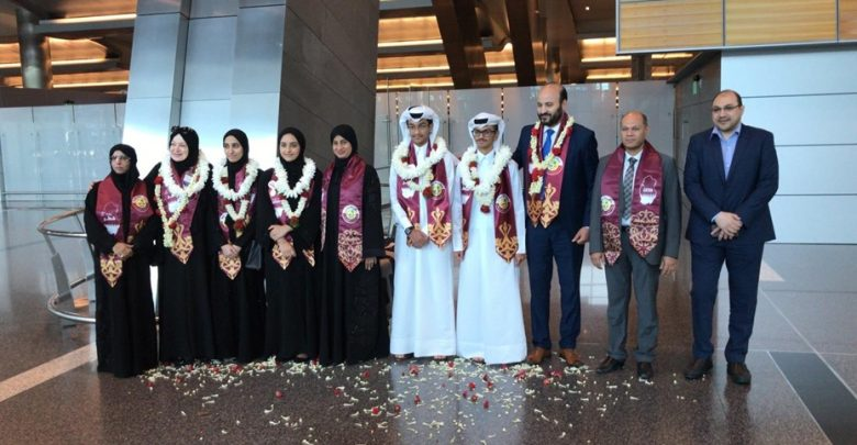 Qatar's students win seven medals in Muscat olympiad