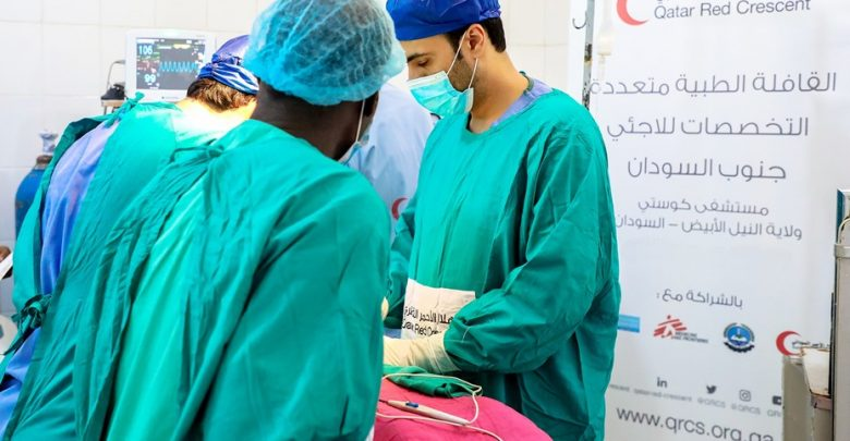 QRCS to send multi-speciality surgical convoy to Sudan