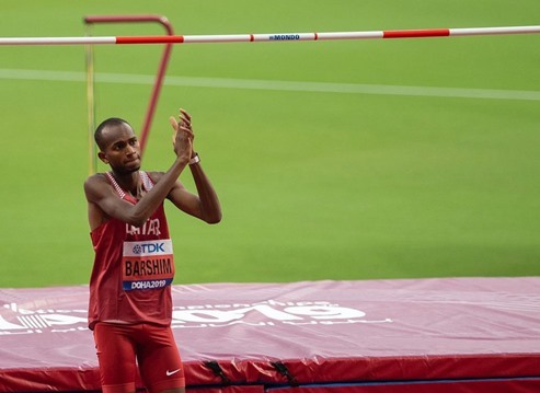 Falcon Mutaz Barshim fly at the top of IAAF World Championship