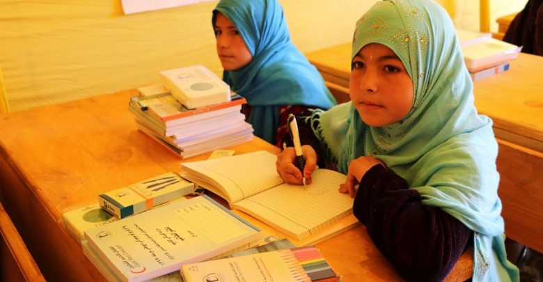 QRCS launches phase 2 of education support project in Afghanistan