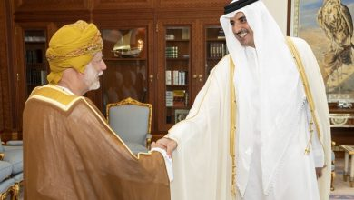 Photo of Amir meets Oman's Foreign Minister