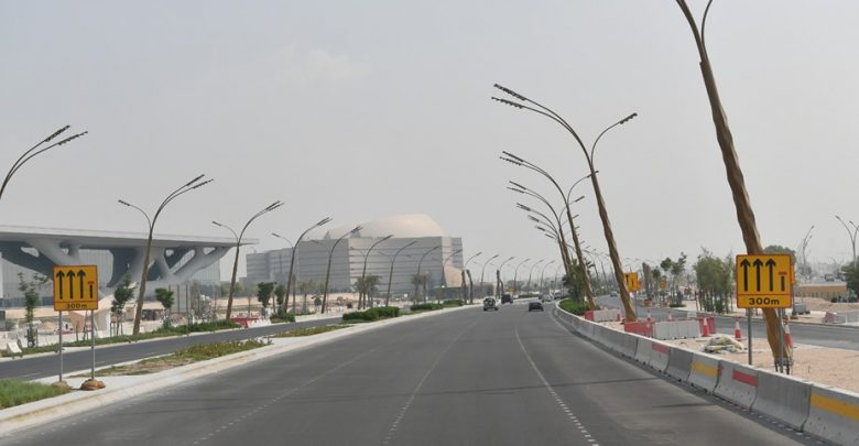 Ashghal opens Tilted Intersection to traffic