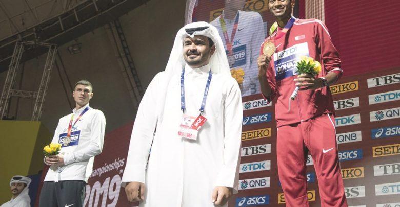 Sheikh Joaan crowns Barshim with high jump gold