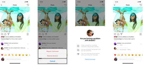 Instagram launches a new tool to combat bullying